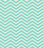 Turkusowego gradientowego szewronu bezszwowy deseniowy tło Zdjęcie Royalty Free
