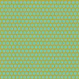 Turkusowy i złoty koloru sześciokąta wzór ilustracji