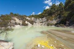 Turkusowy jezioro Zdjęcie Stock