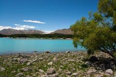 Turkusowy jezioro Obraz Stock