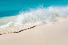 Turkusowy morze karaibskie Obrazy Royalty Free