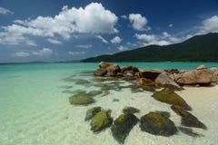 Turkusowy morze w Ko Lipe Satun prowincja Tajlandia Zdjęcia Stock