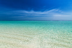 Turkusowy ocean fotografia stock