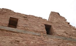 Turm, Abo Pueblo, New Mexiko stockbilder