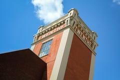 Turm in Almelo die Niederlande stockfotografie