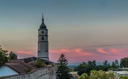 Turm auf Kalemegdan-Festung, hdr Effekt Lizenzfreie Stockfotografie