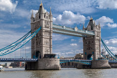 Turm-Brücke in London Stockbilder