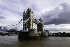Turm-Brücke, London stockfotos