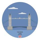Turm-Brücke, London Stockfotografie