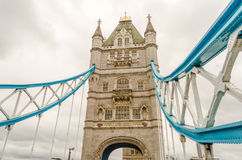 Turm-Brücke, London Stockbilder