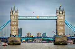 Turm-Brücke, London Stockfoto