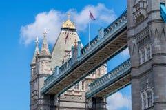 Turm-Brücke, London Stockbild