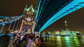 Turm-Brücke und die Scherbe stock video