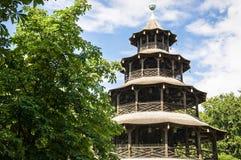 Turm de Chinesischer - Munich Photographie stock