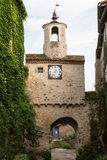 Turm in Cordes-sur-Ciel Stockfotografie
