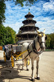 Turm de Chinesischer - Munich Photo libre de droits