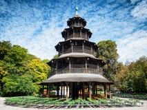 Turm de Chinesischer - Munich Photographie stock libre de droits