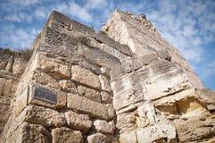 Turm der alten Festung Stockbild