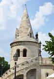 Turm der Bastion des Fischers Stockbilder