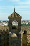 Turm der Ehrerbietung, Alcazar, Cordoba Lizenzfreies Stockbild