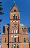Turm der Joseph-Kirche in Verden Lizenzfreies Stockbild