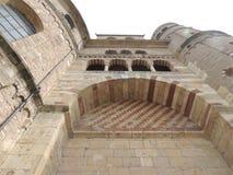 Turm der Kathedrale, am Trier, Deutschland Lizenzfreies Stockfoto