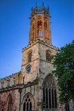 Turm der Kirche in York, England lizenzfreies stockbild