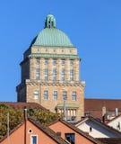 Turm der Universität Zürich-Hauptgebäudes Lizenzfreie Stockfotografie