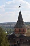 Turm der Verteidigungsfestung Lizenzfreie Stockbilder