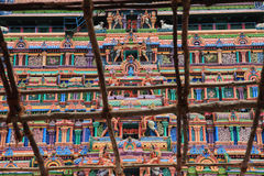 Turm des berühmten Nataraja in Chidambaram Lizenzfreie Stockfotografie