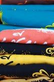 Turm des bunten Hemdes Stockfotos