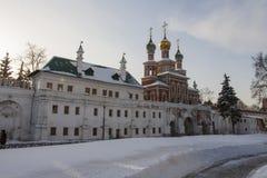 Turm des Klosters Stockbilder