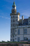 Turm des Kronborg-Schlosses, Dänemark lizenzfreie stockfotografie
