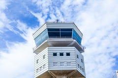 Turm des neuen Flughafens in Arrecife Lizenzfreies Stockbild