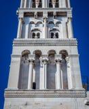 Turm des Palastes von Diocletian in der Spalte Stockfoto
