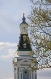 Turm des rohen Natronsalpeters in der Dreiheit Lavra Sergiyev Posad Russland Lizenzfreie Stockbilder