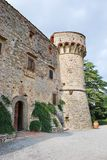 Turm des Schlosses von Meleto Lizenzfreie Stockfotografie