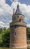 Turm des Schlosses von Wijk-bij Duurstede Lizenzfreie Stockbilder