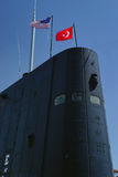 Turm des USS-Razorbackdieselunterseeboots Stockbild