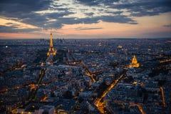 Turm Eiffel, Paris Stockfoto
