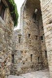 Turm eines Schlosses Stockfoto