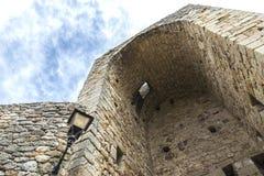 Turm eines Schlosses Stockfotografie