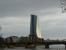 Turm in Frankfurt, Deutschland stockfotos