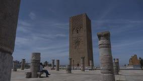Turm Hassan II lizenzfreie stockfotos