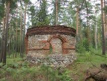 Turm im Holz lizenzfreies stockfoto