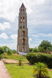 Turm Manaca Iznaga in Valle de Los Ingenios, Kuba Stockfotos