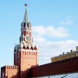 Turm Moskaus der Kreml Spasskaya im Mai 2011 Lizenzfreies Stockbild