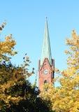 Turm in Opava Stockfotografie