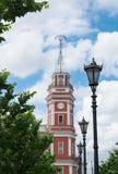 Turm-Stadtrat, in St. Peterburg Lizenzfreies Stockfoto