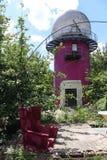 Turm in Teufelberg stockfotografie